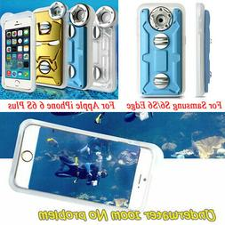 Underwater Photography Waterproof Case Cover For iPhone 6s P