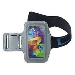 New Vinabty Grey Sports Running Armband with Key Holder, Wat