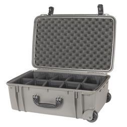 gun metal grey se920 case with dividers