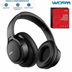 Mpow H7 Wireless Bluetooth Headset Foldable HiFi Stereo Bass