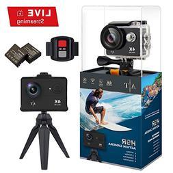 Auto Tech H9R Action Camera 4K Waterproof, Wifi Sports Camer