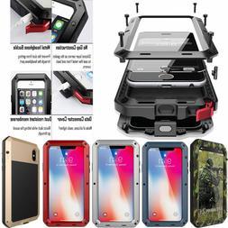 HEAVY DUTY Aluminum Metal Case Cover iPhone SE 11 Pro XS Max