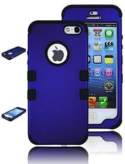 Bastex Heavy Duty Hybrid Case for Apple iPhone 5, 5S, 5G, 5t