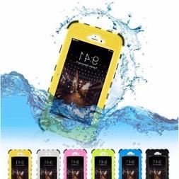 Heavy Duty Waterproof Shockproof & Dustproof Case for iPhone