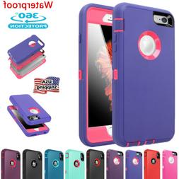 Heavy Duty Waterproof Shockproof Armor Full Case Cover For i