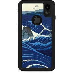 Hiroshige iPhone XR Waterproof Case - View of the Naruto whi