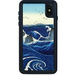 Hiroshige iPhone XS Max Waterproof Case - View of the Naruto