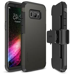 Trianium iPhone X Case  with Holster Case Heavy Duty Cover /