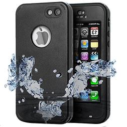 iPod 6 Waterproof Case,Comsoon iPod 5 Touch Defender Case Bu