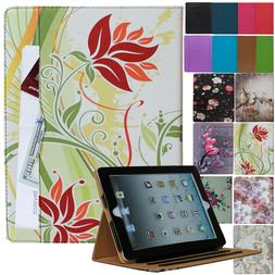 iPad 2/3/4 2nd 3rd 4th Generation Leather Smart Case Cover S