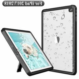 For iPad 2017 2018 Waterproof Case Full Rugged iPad 5th 6th