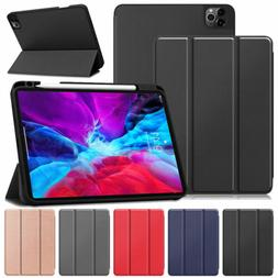 For iPad Pro 12.9 2020 4th Generation Smart Leather Cover Ca