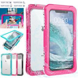 For iPhone 11 Pro Max Waterproof Case Shockproof Dirtproof U