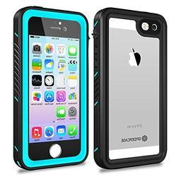 iPhone 5/5S/SE Waterproof Case,SPIDERCASE Full Body Protecti