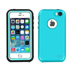 Waterproof Case for iPhone 5 5S SE, Eonfine Shockproof Prote