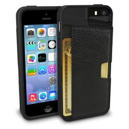 iPhone 5/S/SE Wallet Case - Q Card Case for iPhone 5/5S/SE b