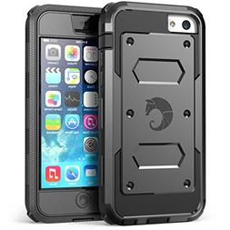 iPhone 5C Case, i-Blason Armorbox for Apple iPhone 5C Dual L