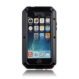 iPhone 5C Case,Mangix Water Resistant Shockproof Aluminum Me