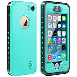 iPhone 5S/5/SE Waterproof Case,Mangix Underwater, Dust Proof