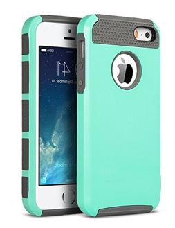 ULAK iPhone 5S Case, iPhone 5 Case, iPhone SE Case,Slim Fit