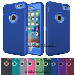 For iPhone 5S SE 5C 6S 8 7 Plus XR Phone Case Hybrid Shockpr