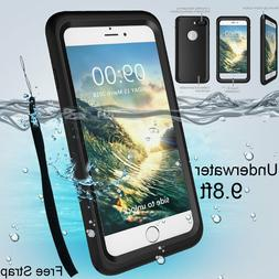 iPhone 6 6s 7 X 8 Plus Case Waterproof Full-body Full Cover
