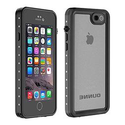 OUNNE iPhone 6/6s Waterproof Case, IP68 Certified with Touch