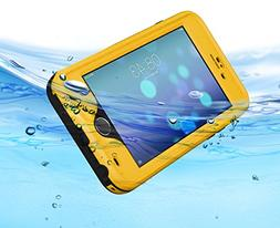HESGI New iPhone 6 Air Waterproof Case Attached Screen Prote
