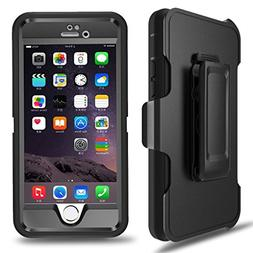 MBLAI Iphone 6 Case Iphone 6S Case Defender 4 Layers Rugged