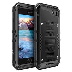 iPhone 6 Plus Case,AutumnFall IP68 H2O Submersible Aluminum