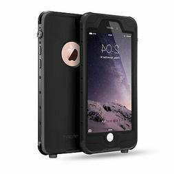 FITFORT iPhone 6 Plus Waterproof Case,Pro Series Extreme Dur