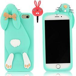 iPhone 6s Case, iPhone 6 Case, Vandot Cute 3D Bunny Design f