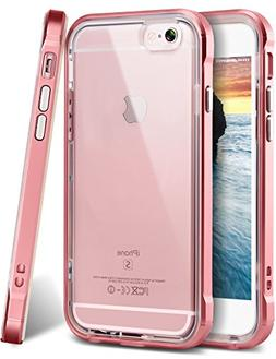 iPhone 6s Plus Case, Ansiwee Reinforced Frame Crystal Highly