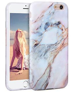 iPhone 6s Plus Case, Imikoko™ Flexible Case Print Crystal