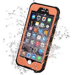 HESGI iPhone 6S Waterproof Case, IP-68 Waterproof Shockproof