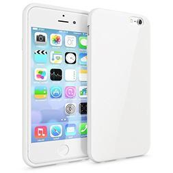 Qissy iPhone 6sPlus 6Plus Case Black Pink White Blue TPU Cov