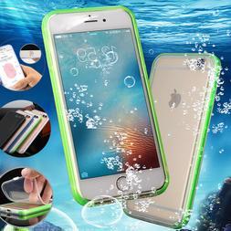 iPhone 7 8 Plus XS Max XR SE Waterproof Shockproof Slim TPU