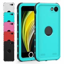For iPhone 7 8 SE 2 Waterproof Hybrid Full Shockproof Case w