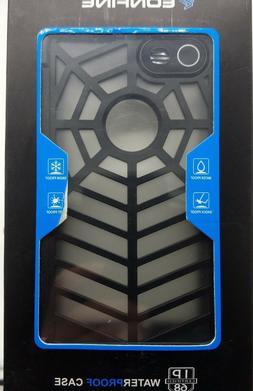 iPhone 7 Case IP68 New Black Eonfine Spiderweb Dust Snow Sho
