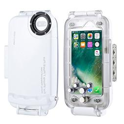HAWEEL iPhone 7 Plus/ 8 Plus Underwater Housing Professional