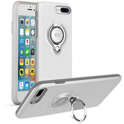 iPhone 7 Plus Case with Kickstand by ICONFLANG 360 Degree Ro