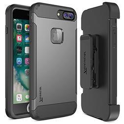 iPhone 7 Plus Case, Trianium  Heavy Duty Protective Cases Sh