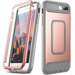 iPhone 7 Plus Case YOUMAKER Full body Rugged Case with Built