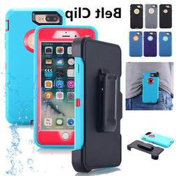 For iPhone 8 6s X 7 Plus Shockproof Hard Heavy Duty Case Wat