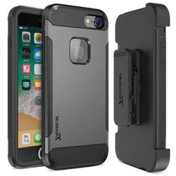 Trianium iPhone 8 Case  with Holster Heavy Duty Protective..
