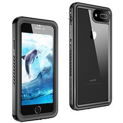 iPhone 8 Plus/7 Plus Waterproof Case, GOCOOL IP68 Protective