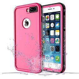 iPhone 8 Plus/7 Plus Waterproof Case, Waterproof iPhone 8 Pl