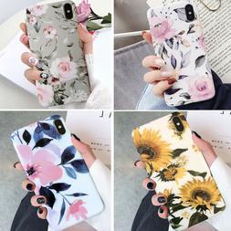 Iphone 11 Pro Max 8 Plus 7 6 XS XR Shockproof Flower Cute Gi