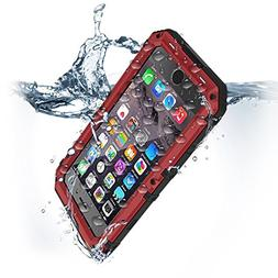 for iPhone 8 Plus & 7 Plus Waterproof Case Heavy Duty Full B