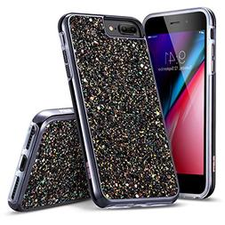 iPhone 8 Plus Case, iPhone 7 Plus Case, ESR Glitter Bling Ha